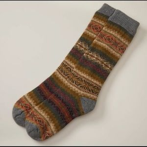 Indigo Men's Reading Socks